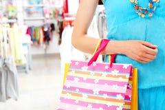 During shopping Stock Image