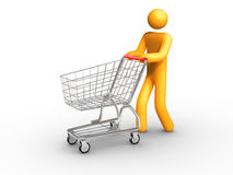 Shopping royalty free illustration