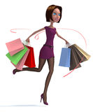 Shopping! Stock Photo