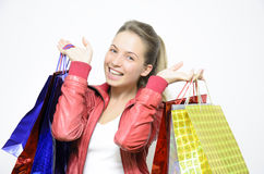 From shopping Royalty Free Stock Images