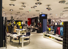 Shopping. Modern store full with clothes Stock Photo