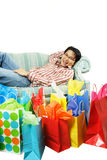 After shopping Royalty Free Stock Photography