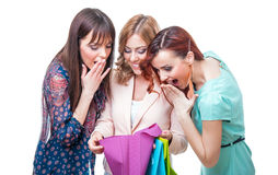 Shopping Image libre de droits