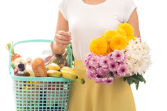 After shopping Royalty Free Stock Images