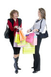 Shopping. Every womens passion... shopping for gifts Stock Photo