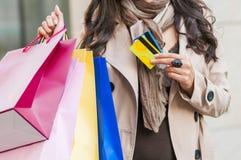 Shopping Photographie stock libre de droits