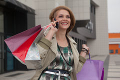 shopping Royaltyfri Fotografi