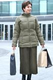 Shopping. Woman with shopping bags Stock Photo