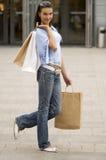 After shopping Stock Photos