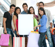 Shopping ad Royalty Free Stock Photo
