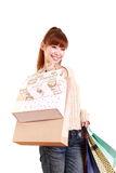 Shopping addiction Royalty Free Stock Photography