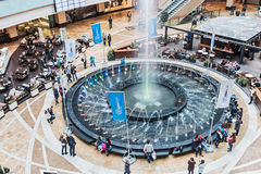 Shopping in Afimall City in Moscow Royalty Free Stock Photo