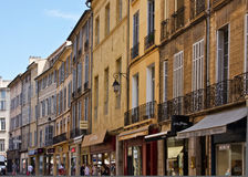 Shopping in Aix Royalty Free Stock Photos