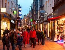 Shopping Amsterdam Royalty Free Stock Images