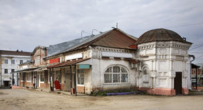 Shopping Arcade in Kashin. Russia Royalty Free Stock Photography