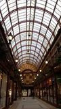 Shopping arcade royalty free stock images