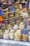 Shopping arcades town Selling hats Stock Photography