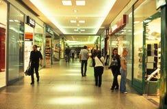 Shopping area in Berlin Stock Photos