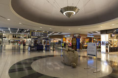 A Shopping area of the D Gates at McCarran Airport in Las Vegas, Stock Photography