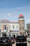 Shopping area Mackinaw City Michigan Stock Image