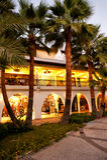 Shopping area in Marmaris marina  Turkey Royalty Free Stock Photo