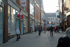 Shopping Area Stock Images