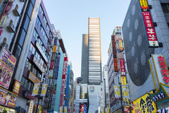 Shopping area in Shinjuku Royalty Free Stock Photos