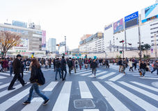 Shopping area in Shinjuku Royalty Free Stock Photography
