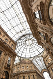 Shopping art gallery in Milan, Italy Stock Photography