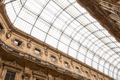 Shopping art gallery in Milan, Italy Royalty Free Stock Image