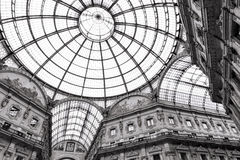 Shopping art gallery in Milan, Italy Royalty Free Stock Photos