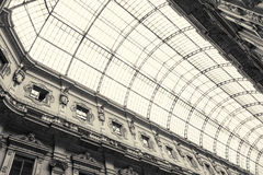 Shopping art gallery in Milan, Italy Stock Image