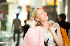 Shopping as entertainment Stock Images