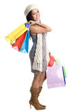 Shopping asian girl Royalty Free Stock Photo