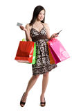 Shopping Asian Woman Royalty Free Stock Photo