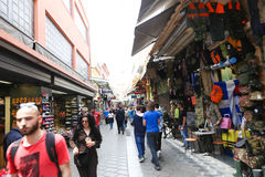 Shopping at Athens, Greece Royalty Free Stock Photo
