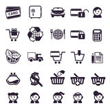 Shopping. Authors illustration in vector Stock Photography