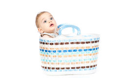 Shopping for baby concept Stock Image
