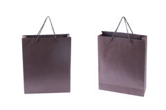 Shopping bag. Purple shopping bag with white background Stock Images