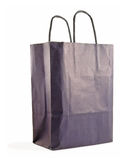 Shopping bag. A shopping bag isolated on white stock photos