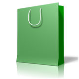 Shopping bag. 3d render of an shopping bag Royalty Free Stock Photography