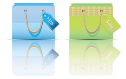 Shopping bag. Stock Images