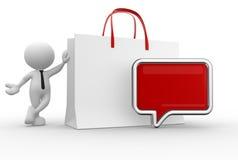Shopping bag Stock Image