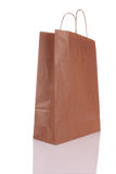 Shopping bag. A paper Shopping bag on white background Royalty Free Stock Photography