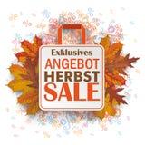 Shopping Bag Autumn Angebot Percents Royalty Free Stock Photos