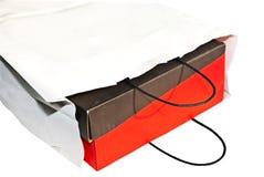 Shopping Bag and Box Royalty Free Stock Image