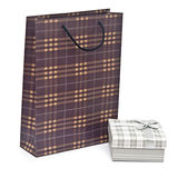 Shopping bag with colorful box Stock Images