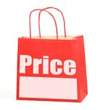Shopping bag with copy space Stock Photo