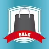 Shopping bag design Royalty Free Stock Photos