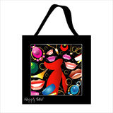 Shopping bag design with woman jewelry Royalty Free Stock Photography